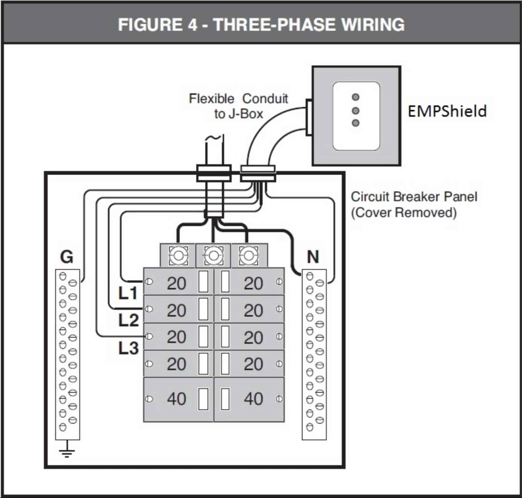 EMPShield Wiring Schematic